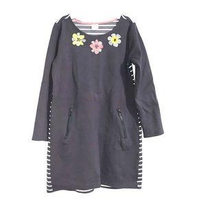 Girls gray long sleeve dress (warm material)